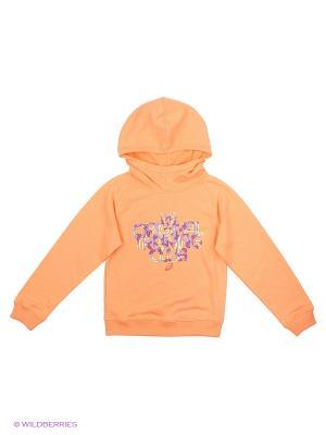 Толстовки ASICS. Цвет: оранжевый