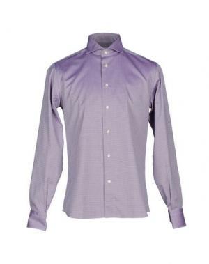 Pубашка NO BRAND. Цвет: фиолетовый