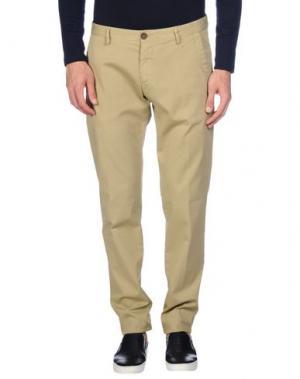 Повседневные брюки NICHOL JUDD. Цвет: светло-зеленый
