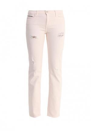 Джинсы Calvin Klein Jeans. Цвет: розовый