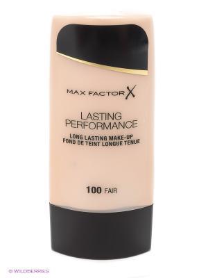 Основа под макияж Lasting Perfomance , 100 тон MAX FACTOR. Цвет: кремовый