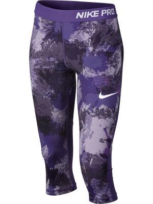 Капри G NP CPRI AOP3 Nike. Цвет: фиолетовый