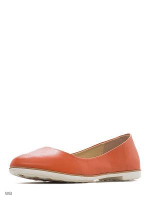 Балетки HUADA. Цвет: оранжевый