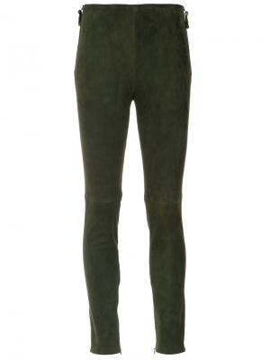 Skinny pants Tufi Duek. Цвет: зелёный