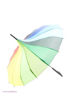 Зонт Flioraj. Цвет: черный, синий, красный, желтый