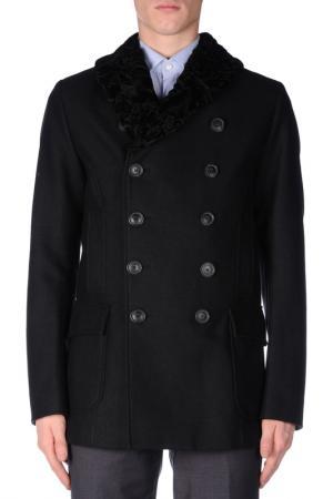 Coat BRIAN DALES. Цвет: dark blue