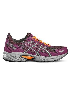 Спортивная обувь GEL-VENTURE 5 ASICS. Цвет: лиловый, черный, коралловый