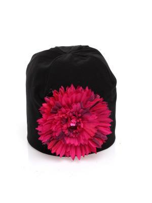 Шапка Jane Flo. Цвет: черный
