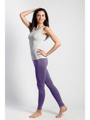 Леггинсы yogadress. Цвет: фиолетовый