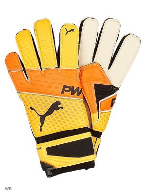 Перчатки вратарские evoPOWER Grip 2.3 RC PUMA. Цвет: оранжевый