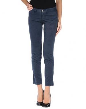 Повседневные брюки 9.2 BY CARLO CHIONNA. Цвет: грифельно-синий