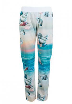 Спортивные брюки EA7. Цвет: разноцветный
