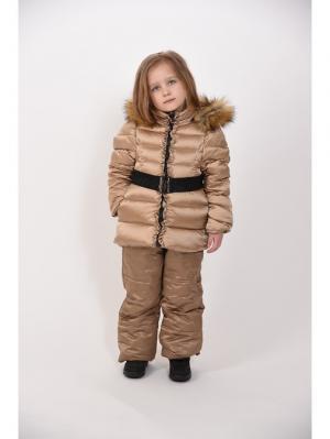 Куртка + полукомбинезон TOPKLAER. Цвет: золотистый
