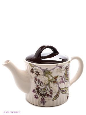 Заварочный чайник, 850 мл LORAINE. Цвет: молочный