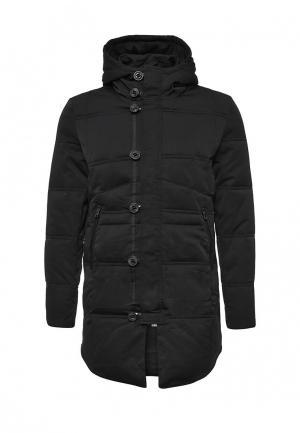Куртка утепленная Gianni Lupo. Цвет: черный