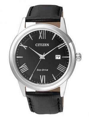 Часы AW1231-07E CITIZEN. Цвет: черный, серебристый