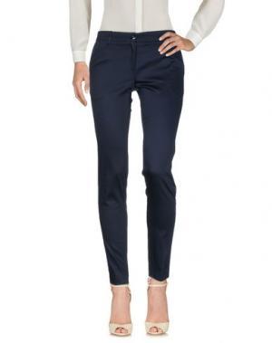 Повседневные брюки MICHAEL FORPUS. Цвет: темно-синий