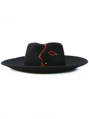 Шляпа Lanine Celine Robert. Цвет: чёрный