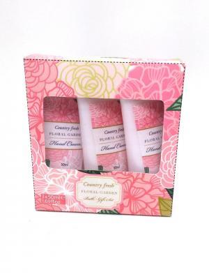 Подарочный набор Floral Garden 3 Country Fresh. Цвет: кремовый