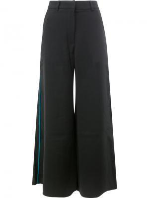 Широкие брюки Peter Pilotto. Цвет: чёрный