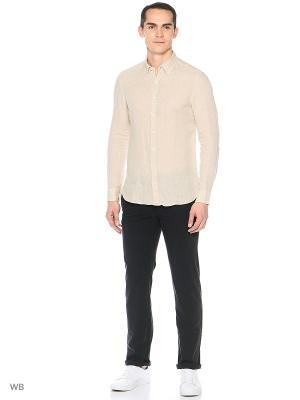 Рубашка - AVISPA8 MANGO MAN. Цвет: светло-серый, бежевый