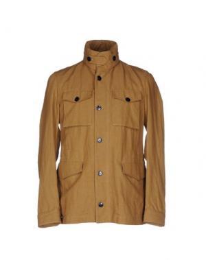 Куртка MONTEDORO. Цвет: коричневый