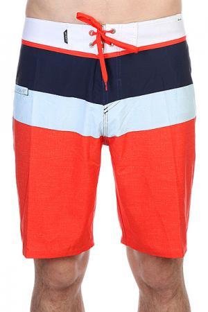 Шорты пляжные  Sunsetfuture 20 Bdsh Slater Mandarin Quiksilver. Цвет: синий,голубой,оранжевый
