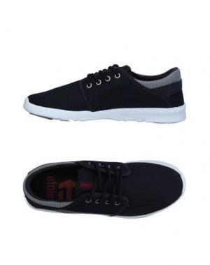 Низкие кеды и кроссовки ETNIES. Цвет: темно-синий