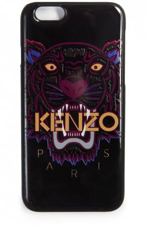 Чехол для iPhone 6 с принтом Kenzo. Цвет: бордовый