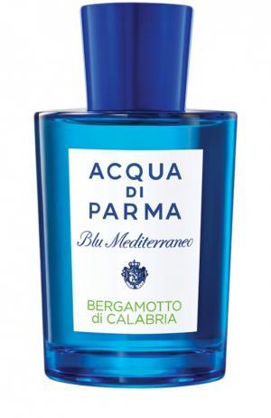 Туалетная вода Bergamotto di Calabria Acqua Parma. Цвет: бесцветный