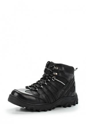Ботинки трекинговые Tesoro. Цвет: черный
