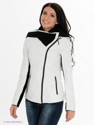 Куртка STEFANO FERRI. Цвет: белый, черный
