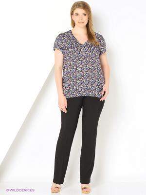 Блузка женская OLBE. Цвет: черный, белый