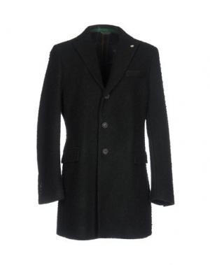 Пальто MANUEL RITZ. Цвет: темно-зеленый