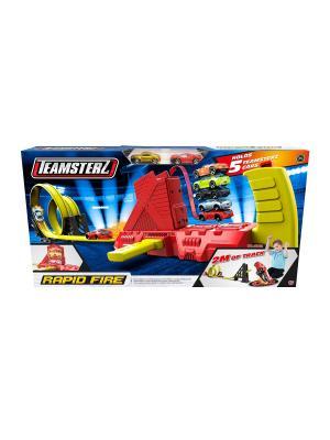 Трек супер-скоростной Teamsterz HTI. Цвет: темно-синий, красный, синий