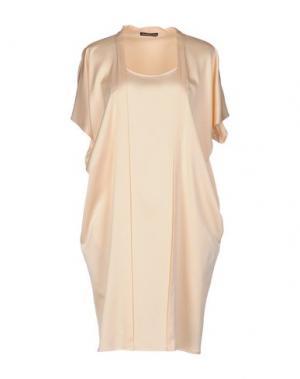 Короткое платье NEW YORK INDUSTRIE. Цвет: светло-розовый