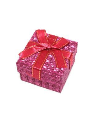 Подарочная коробка для ювелирных украшений Eleon. Цвет: фуксия
