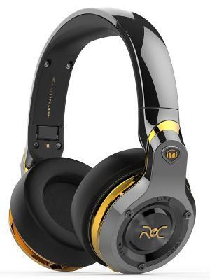 Наушники с микрофоном Monster ROC Sport Bluetooth Over-Ear Wireless, Black Platinum. Цвет: черный