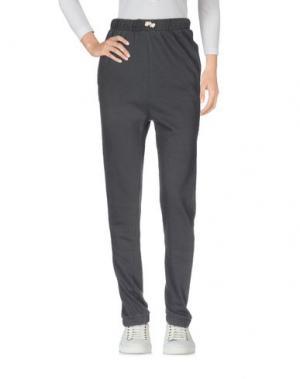 Повседневные брюки EMPATHIE. Цвет: серый