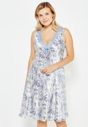 Сорочка ночная Mia-Amore. Цвет: голубой