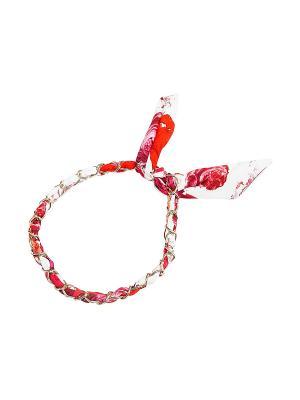 Повязка Kameo-bis. Цвет: красный, розовый, белый