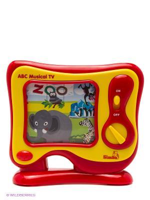 Музыкальный телевизор Simba. Цвет: красный