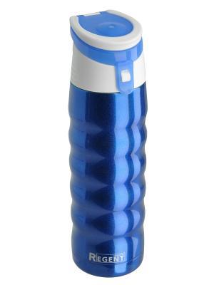 Термос Regent inox. Цвет: синий, белый
