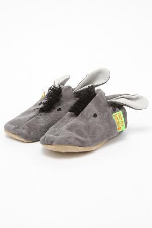 Туфли домашние Funky Feet Fashions™. Цвет: серый
