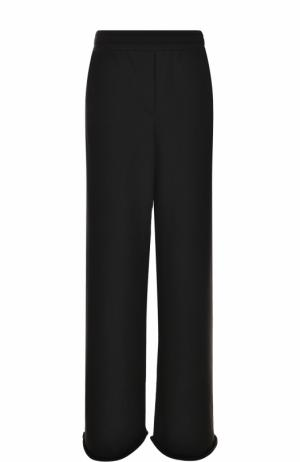 Расклешенный хлопковые брюки T by Alexander Wang. Цвет: черный
