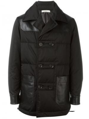 Двубортная куртка Bally. Цвет: чёрный