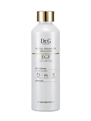 Восстанавливающая витаминная эмульсия с EGF Revital Enhancer Emulsion, 150 мл. Dr.G. Цвет: белый