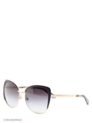 Очки солнцезащитные DOLCE & GABBANA. Цвет: фиолетовый