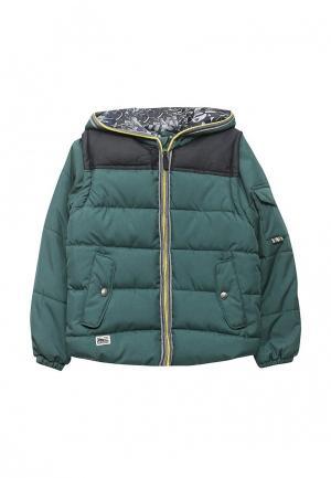 Куртка утепленная Acoola. Цвет: зеленый
