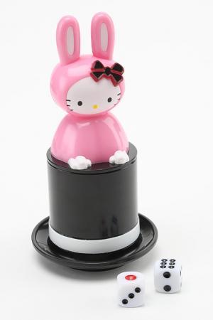 Превращение игральных костей Hello Kitty. Цвет: мультицвет